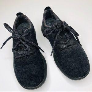 AllBirds Wool Runners Tennis Shoes Natural Black 7
